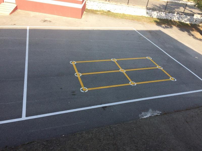 Okul Bahçemiz Oyun Çizgileri